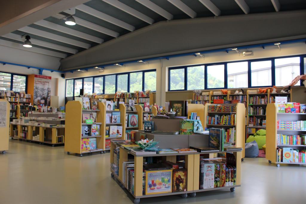 Libreria Quattro Sass - Interno